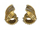 Tiffany & Co vintage diamond clip earrings hatton garden berganza