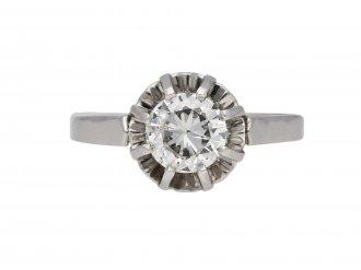 Solitaire diamond ring hatton garden berganza