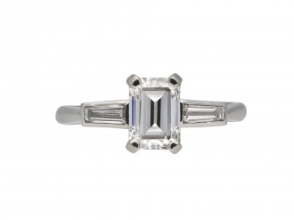 Art Deco diamond ring berganza hatton garden