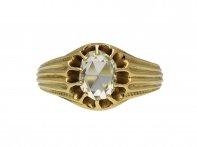 Antique rose cut diamond ring berganza hatton garden