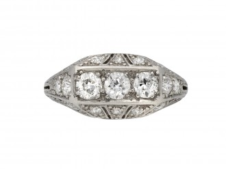 Tiffany & Co diamond cluster ring berganza hatton garden