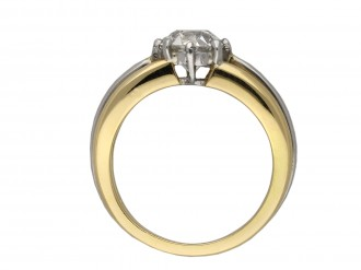 Oscar Heyman Brothers solitaire diamond ring berganza hatton garden