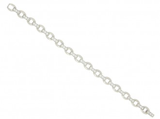 Oscar Heyman Brothers diamond bracelet berganza hatton garden