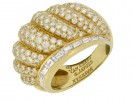 mark view Van Cleef & Arpels vintage diamond dress ring