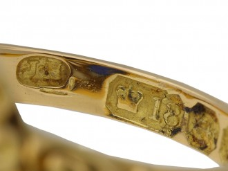Burmese sapphire diamond ring Joseph Harris berganza hatton garden