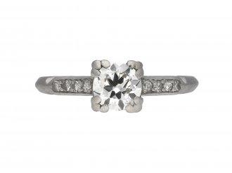 Diamond solitaire engagement ring berganza hatton garden