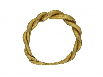 Viking gold twisted ring hatton garden berganza