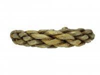 Viking gold plaited ring berganza hatton garden