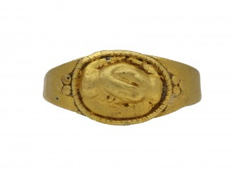 Ancient Roman fede betrothal ring hatton garden berganza