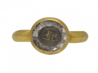 Stuart love knot ring, circa 17th century berganza hatton garden