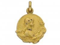 pendant by Jean Baptiste Emile Dropsy hatton garden berganza