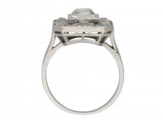 Mellerio Art Deco diamond cluster ring berganza hatton garden