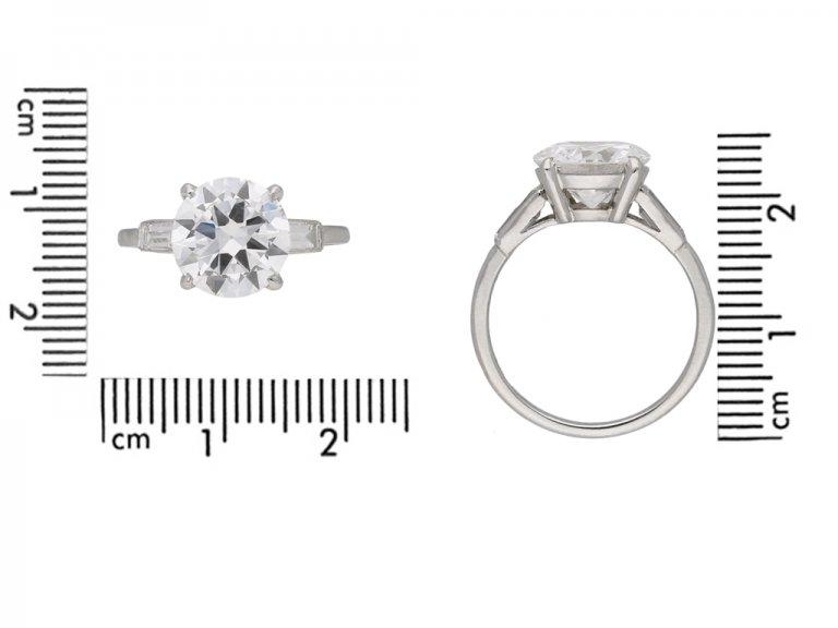Cartier solitaire diamond engagement ring berganza hatton garden