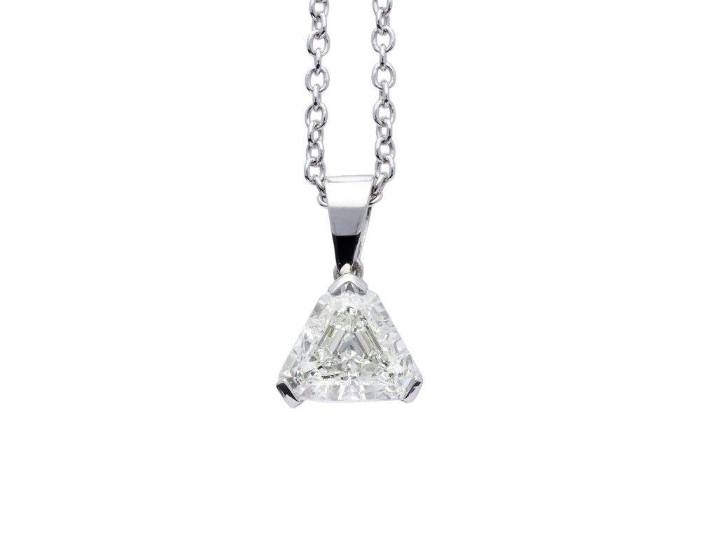 Vintage diamond pendant berganza hatton garden