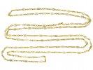 Antique long guard chain necklace French berganza hatton garden