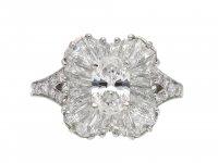 Vintage Tiffany & Co. diamond ballerina ring hatton garden