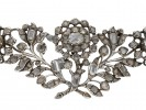 Georgian diamond brooch English berganza hatton garden