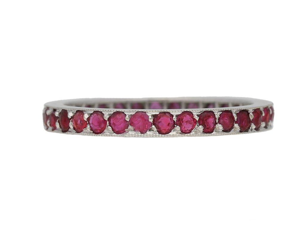 Antique ruby ring berganza hatton garden