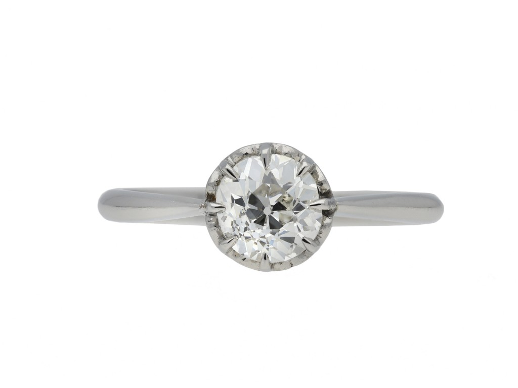 Diamond solitaire ring berganza hatton garden