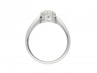 Diamond solitaire ring berganza hatton garden