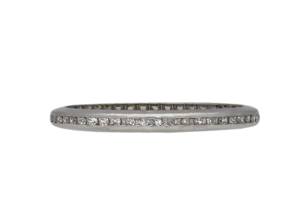 Channel set diamond eternity ring berganza hatton garden