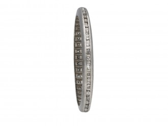 Channel set diamond eternity ring berganza hatton garden