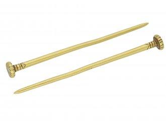 Parthian gold dress pins berganza hatton garden