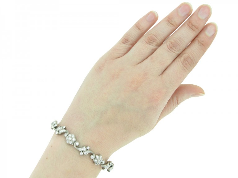 Tiffany & Co diamond bracelet berganza hatton garden