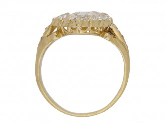 front antique diamond ring berganza hatton garden
