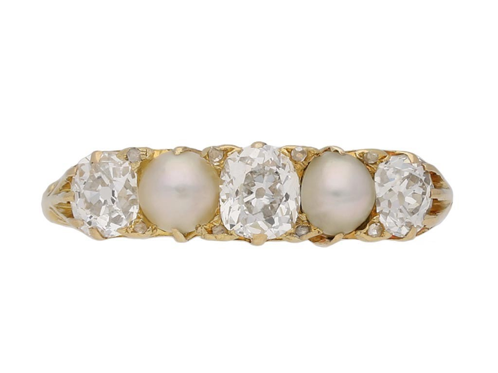 antique pearl diamond ring hatton garden berganza