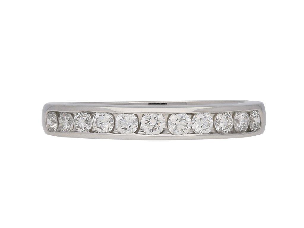oscar heyman diamond eternity ring berganza hatton garden
