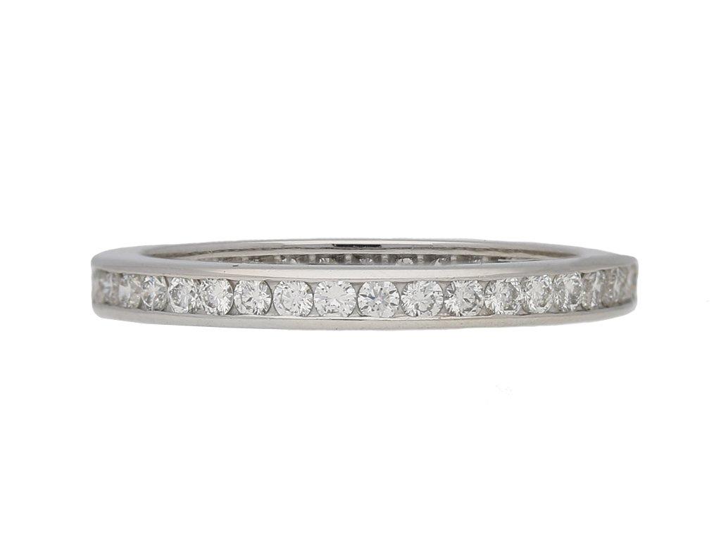 modern Oscar Heyman diamond eternity berganza hatton garden