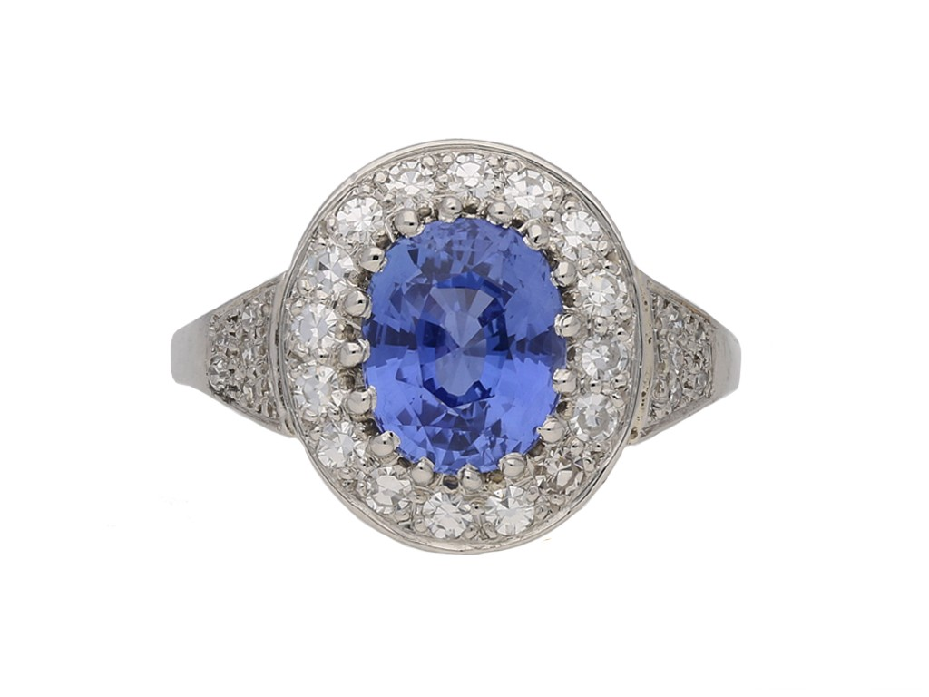 antique sapphire diamond ring hatton garden berganza