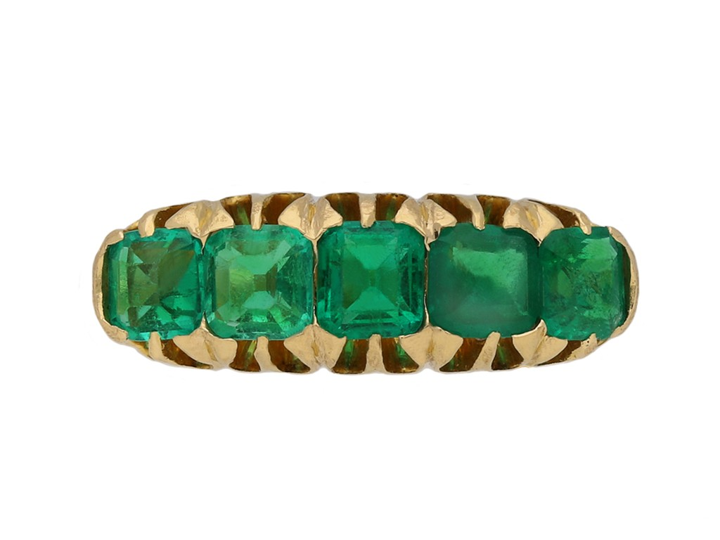 antique emerald ring berganza hatton garden