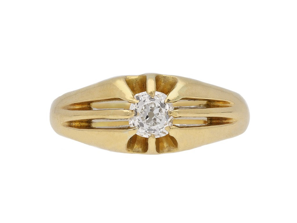 antique gold diamond ring berganza hatton garden
