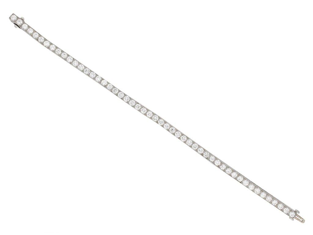 Tiffany & Co. diamond set line bracelet berganza hatton garden