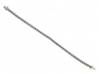 Tiffany & Co. diamond set line bracelet berganza hatton garden
