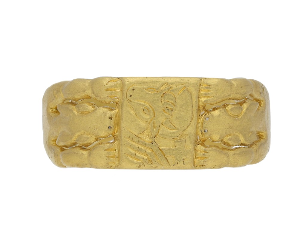 Medieval ring of St Luke berganza hatton garden