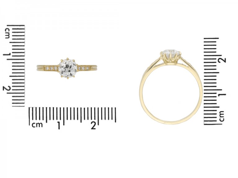 Edwardian diamond engagement ring berganza hatton garden
