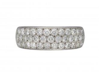 Oscar Heyman Brothers diamond ring berganza hatton garden
