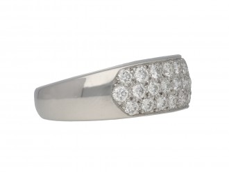Oscar Heyman Brothers diamond ring berganza hatton garden