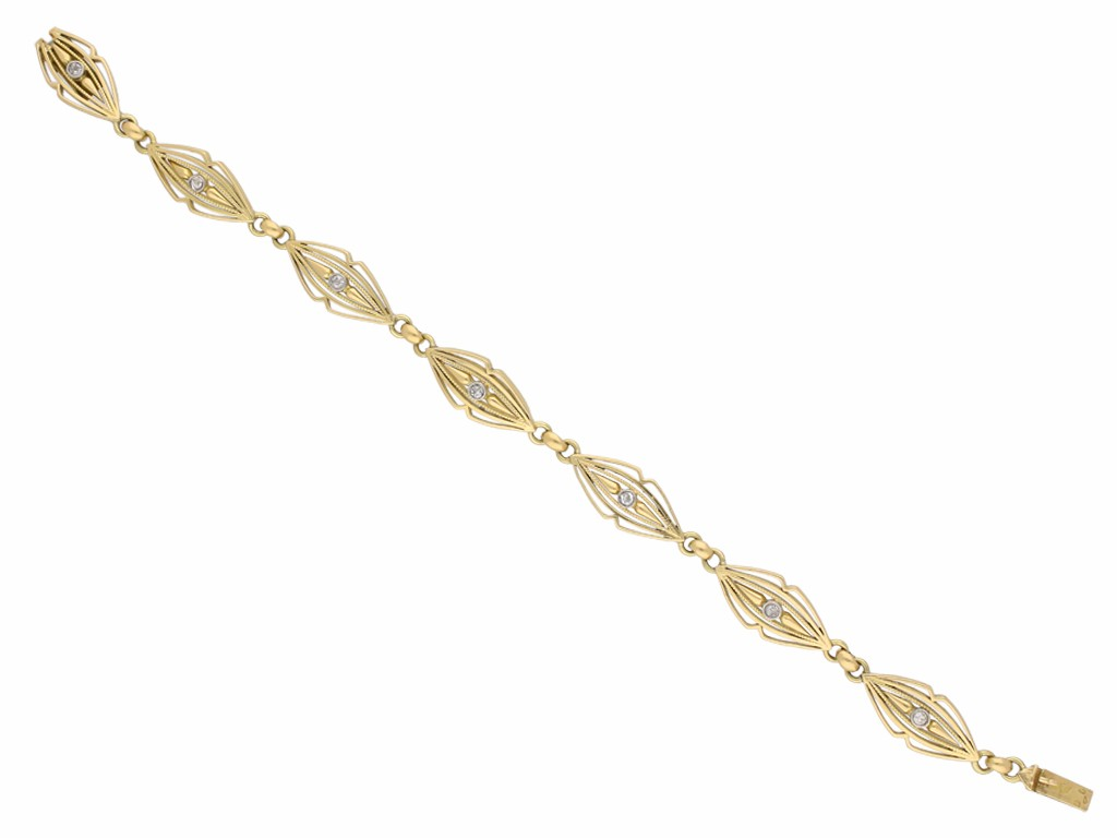 Belle Époque diamond bracelet berganza hatton garden