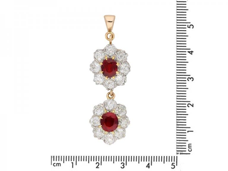 Burmese ruby diamond necklace/tiara berganza hatton garden