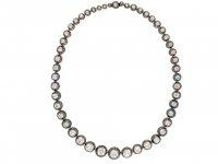 Victorian diamond riviere necklace hatton garden