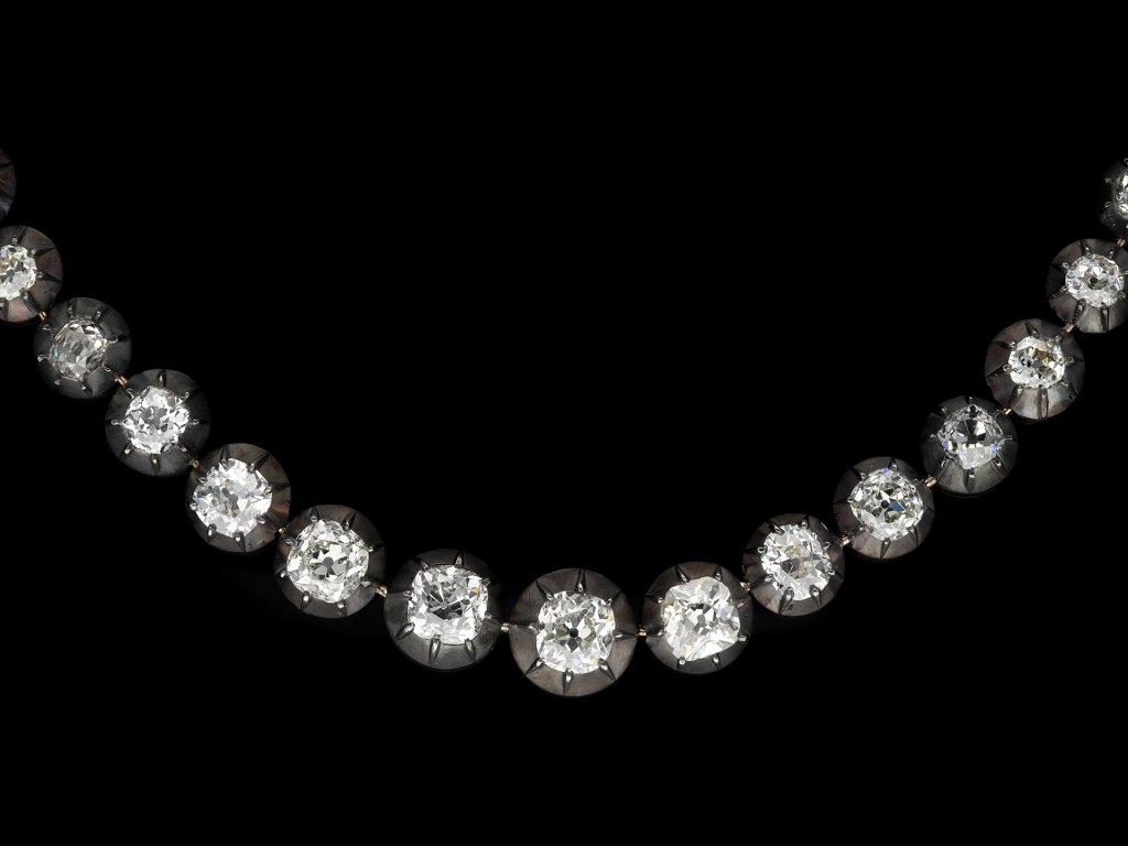 Impressive early Victorian diamond broochberganza hatton garden
