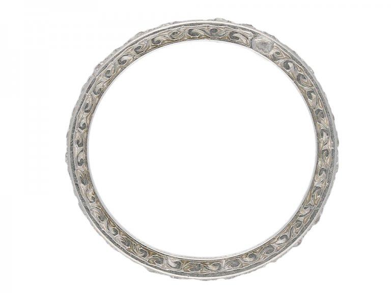 Diamond eternity ring berganza hatton garden