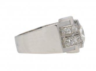 Mellerio Art Deco diamond ring berganza hatton garden