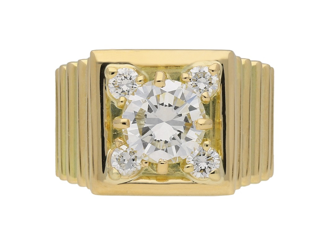 Diamond Cocktail Ring French berganza hatton garden