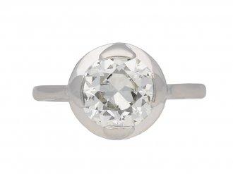 Antique diamond ring, French berganza hatton garden