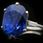Van Cleef & Arpels Burmese Sapphire Ring, French, circa 1930.
